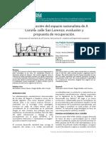 La construcción del espacio racionalista de A Coruña