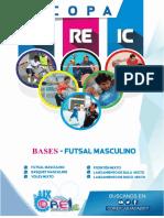 1.- Bases de Futsal Masculino - Ix Coreic 2017