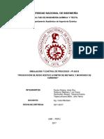 Trabajo PI-426B Acido Acetico