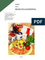 Ensalada de HiGoS y Langostino s