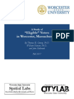 "A study of ""eligible"" voters in Worcester,  by Worcester State University"