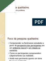 Pesquisa Qualitativa_formulação Do Problema