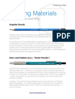 Drawing Materials Guide