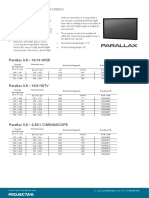 Projecta 2015 Product Page Parallax