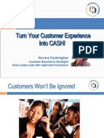 Turn Your Customer Experience Into CASH