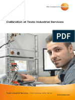 Calibration at Testo Industrial Services