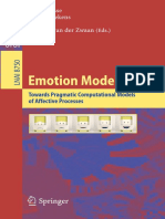 (Lecture Notes in Computer Science 8750 Lecture Notes in Artificial Intelligence) Tibor Bosse, Joost Broekens, João Dias, Janneke Van Der Zwaan (Eds.)-Emotion Modeling_ Towards Pragmatic Computational