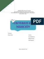 Criterios de Medicion..