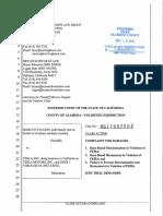 Vaughn v. Tesla, Inc. Complaint - File Stamped Copy