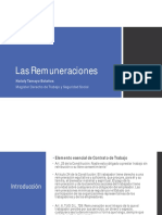 Las Remuneraciones (1)