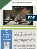 6.- El Materialismo Histórico y La Teoría Crítica de Karl Marx