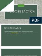 Acidosis Lactica