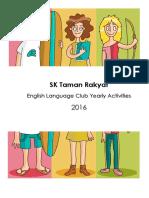 English Club Booklet