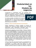 Paper - Modularidad en Los Modelo de Negocios - Eduardo Reyes