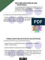 Unidad IV Formulación e Implementación de Estrat.