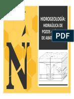 Hidraúlica de Pozos - Cálculo de Abatimientos