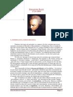 Apuntes de Kant (1)