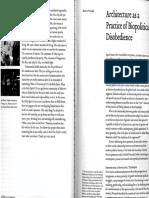 Preciado_Architecture as a Practice of Biopolitical Disobedience