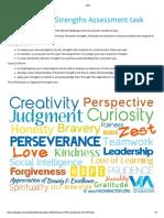 stile - character strengths assessment