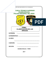 Clasificacion de Las Drogas Monografias Pnp2