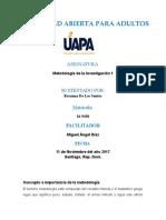 Metodologia de La Investigacion Rosanna Metodo