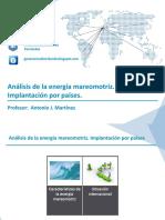 Analisis de La Energia Mareomotriz. Implantacion Por Paises