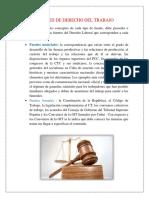 Fuentes de Derecho Del Trabajo Ayllon