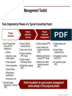Consulting Project Management Toolkit Overview