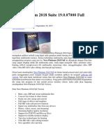 Nero Platinum 2018 Suite 19.0.07000 Full Version