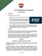 Manual de Prevención de Accidentes Para La Dgac