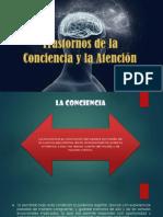 Trastornos de La Consciencia y La Atencion (1)