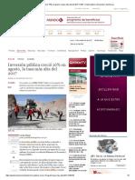 Inversión Pública Creció 16% en Agosto, La Tasa Más Alta Del 2017 _ MEF _ Gasto Público _ Economía _ Gestion