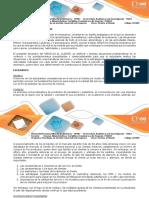 Escenario Planteado - Estrategia de Aprendizaje 8-05