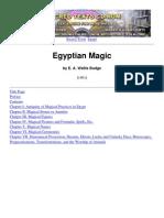 E. a. Wallis Budge - Egyptian Magic