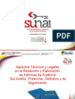 Presentación Curso Redacción Informe Técnico de Auditoría 21-02-2017