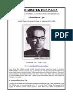 Tokoh Arsitek Indonesia