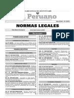 El Peruano Normas