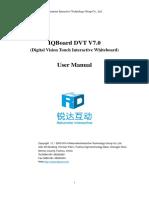IQBoard DVT V7.0 User Manual(English)