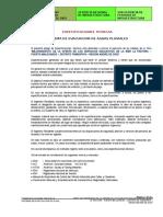 Especificaciones Tecnicas Canales La Pastora