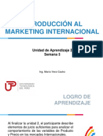 Marketing Internacional Semana 5