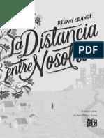 Extracto Grande_LA DISTANCIA