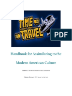 handbook for assimilating to the modern american culture