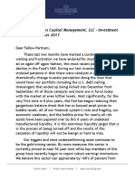 November 2017 Investment Letter - Corona Associates Capital Management LLC