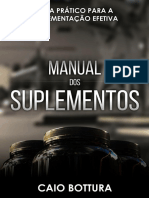 Manual Dos Suplementos - Caio Bottura