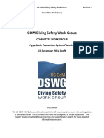 US GOM DSWG Hyperbaric Evacuation System Planning Guidelines Rev 0