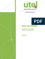 Guia Semana 3 - Desarrolloso Sustentable UTEL