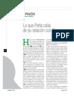 Lo que Peña calla de su relación con Trump (LN2427)