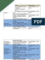 Fiesta de las Ciencias y las Humanidades 2017 - Programa Foro UNIVERSUM