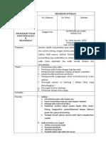 SOP Prosedur Intubasi