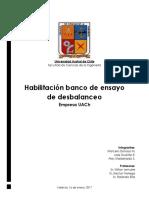 Proyecto VI_ Grupo 2_ Habilitación Banco de Ensayo de Vibraciones